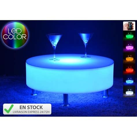 Lu Led Mobil L300 table basse lumineuse led multicolore buckle achat