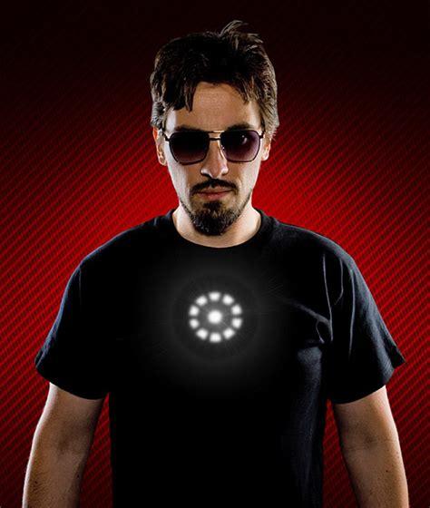Like Tony by Camiseta Led Like A Tony Stark