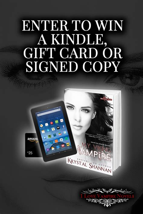 win a kindle 7 signed win a kindle 25 gift card or signed copy from