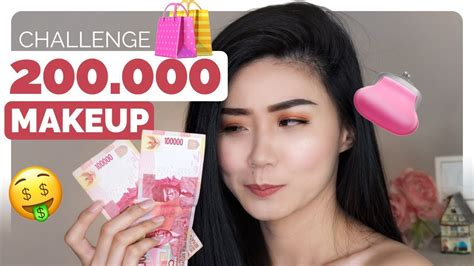 200k makeup challenge 2017 tutorial makeup murah dan