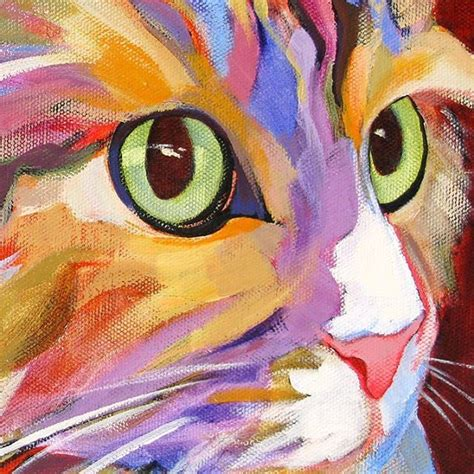 cat painting designs easy 25 best ideas about cat paintings on black