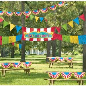 outdoor carnival ideas birthday express - Carnival Theme Decorations