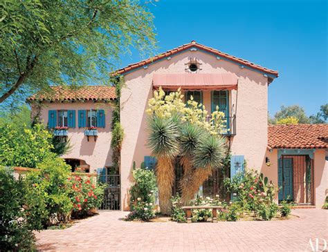 arizona style homes tour linda ronstadt s mediterranean style home in tucson