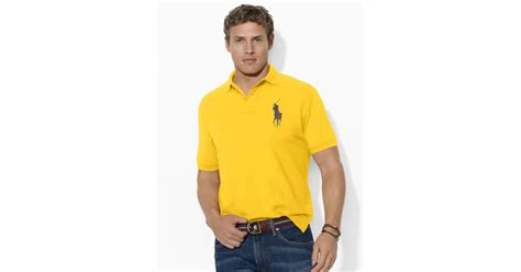 Polo Country Original Classic Gold ralph classic fit big pony polo in yellow for athletic gold lyst