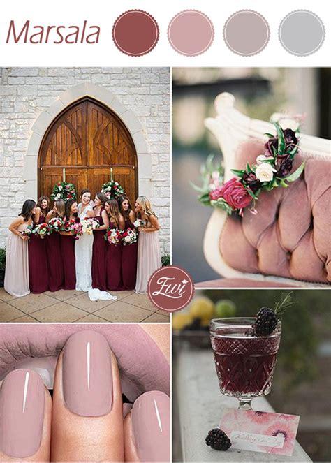 10 pantone wedding colors for fall 2015