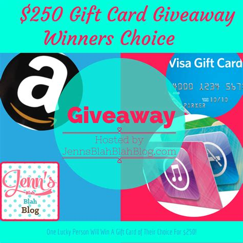 Gift Card Giveaway - monicas rants raves and reviews 250 winner picks it gift card giveaway ends 3 31
