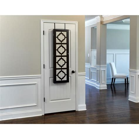 decorative armoire home decorators collection provence wall mount jewelry