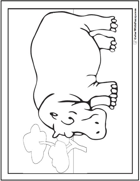 happy hippo coloring page hippo coloring pages h is for happy hippo