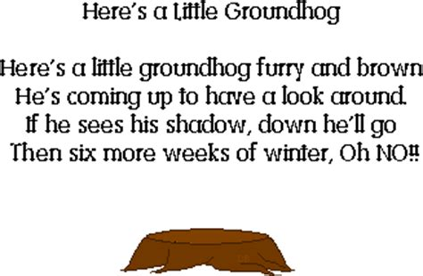 groundhog day poem mrs jackson s class website january 2011