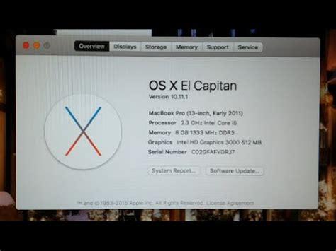 upgrade macbook pro 2011 ram macbook pro 13 early 2011 ram upgrade or ssd upgrade