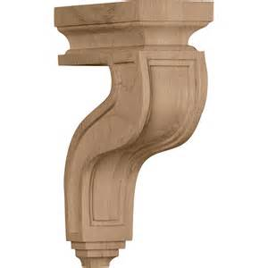 Corbels Countertop Arts Crafts Hollow Back Wood Corbel