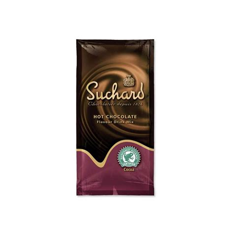 Suchard Hot Chocolate Flavor Drink Sachet   Coffee Supplies Direct