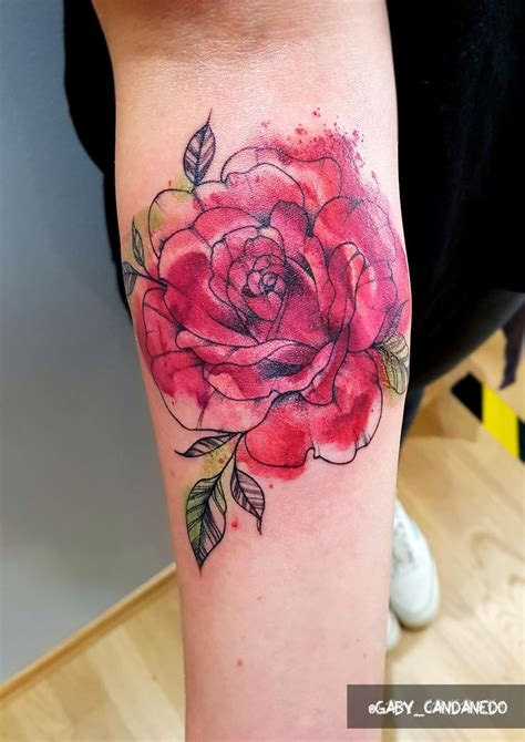 watercolor tattoo rose best 25 watercolor tattoos ideas on