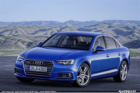 Audi Pre Sense Basic by Five Stars For Audi A4 In Euro Ncap Test Audiworld