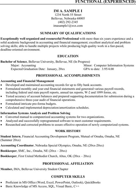 assistant bookkeeper resume for free page 2