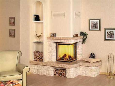 corner fireplaces offering unique decorative accents