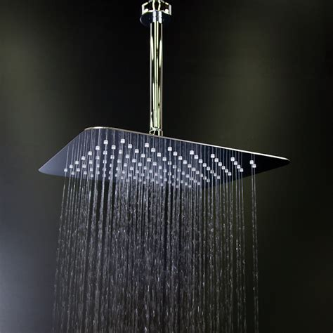 Square Shower Heads by Lacava Eleganza 12 Quot Square Shower