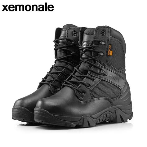 Sepatu Country Boot Safety 01 boots genuine leather boots desert combat