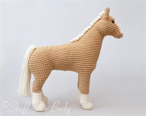 amigurumi horse abby the amigurumi pattern stuff the