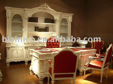 luxury european style office desk and chair office