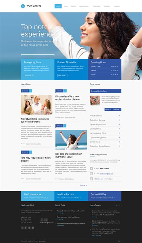 theme wordpress free health 35 best health and medical wordpress themes 2017 athemes