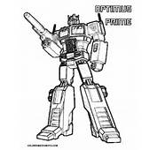 Transmissionpress King Optimus Prime Transformers Coloring Pages