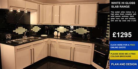 kitchen for sale white hi gloss slab kitchen for sale