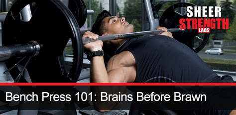 how many times should i bench a week bench press 101 brains before brawn