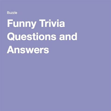 movie trivia questions and answers for teens 30 funny and a little ridiculous trivia questions and