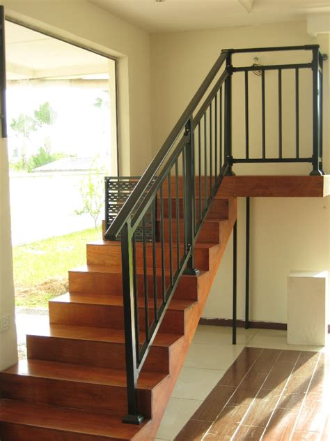 metal banister ideas new style assembled stair railings with hot dip galvanized