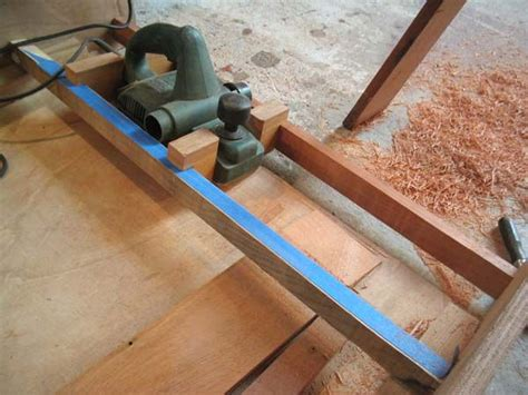 plank scarf jig   tools woodworking router jig