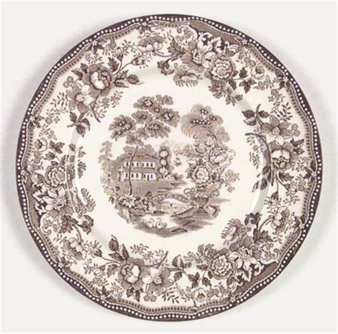 brown pattern dinnerware royal staffordshire tonquin brown at replacements ltd