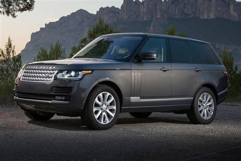 land rover suv 2016 2016 land rover range rover pricing for sale edmunds