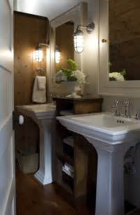 Bathroom Pedestal Sink Ideas Pedestal Sink Bathroom Traditional With Cabin Bathroom