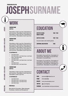 innovative resume templates 1000 images about some innovative cvs on