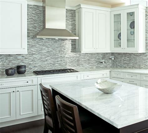 Backsplash For Kitchen With White Cabinet by Backsplash Ideas For White Kitchen Kitchen And Decor