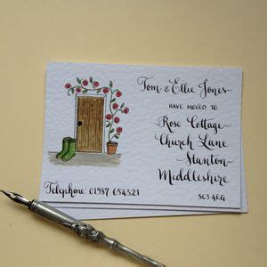 new home and new address cards notonthehighstreet com