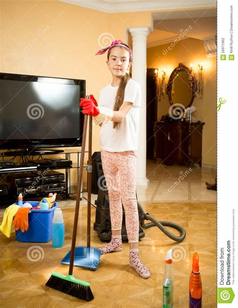 Vacuum Living Room In Cleaning Up Living Room With Vacuum Cleaner Swab And