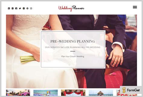 Wedding Planner Theme by 5 Wedding Planner Themes 2018 Formget