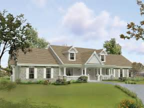 Cottage Style Porch For Ranch Homes by Shiloh Valley Country House Plan Alp 09hz Chatham