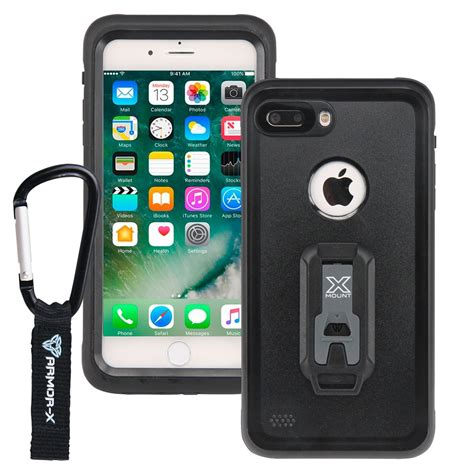 apple iphone 8 plus ip68 2 meter waterproof with carabiner