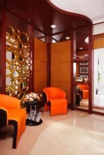 desain meja foyer sambut tamu dengan ruang foyer yang cantik