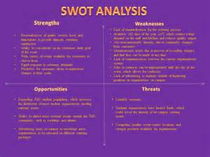 swot analysis james madison special events catering
