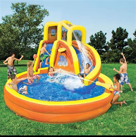 water bounce house kidwise vibrant monkey explorer jumper inflatable bounce house water slides