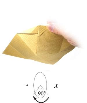 Easy Origami Bowl - how to make a simple origami bowl page 10