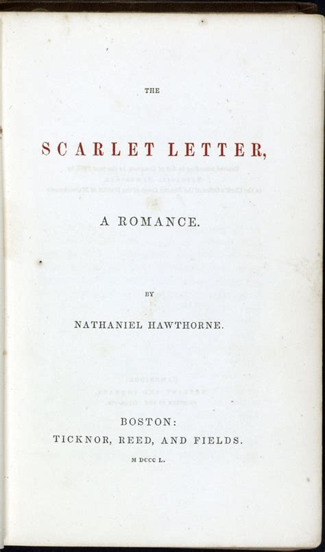 theme of secrecy in the scarlet letter 1850 to 1900 books that shaped america exhibitions