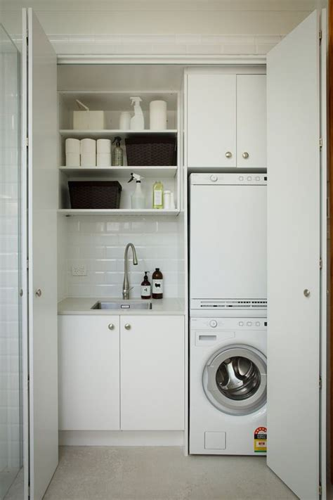 kitchen and laundry design 40 small laundry room ideas and designs renoguide