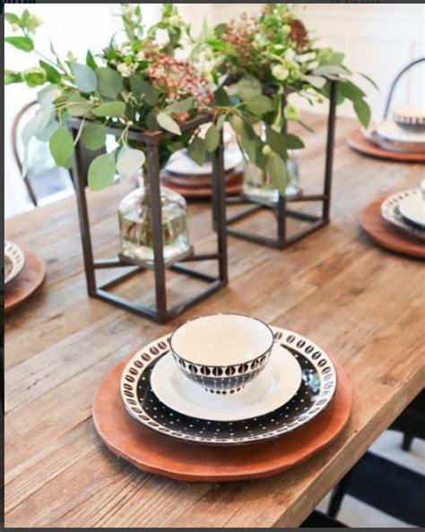 Metal vase centerpiece magnolia market dining room pinterest vase vase centerpieces and