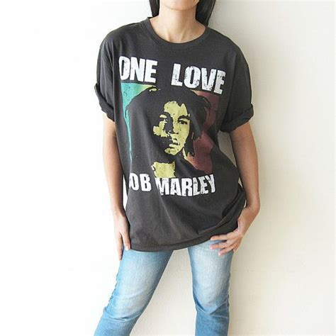 Tshirt B M X bob marley shirt one t shirt t shirts size