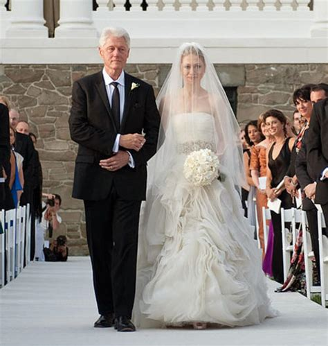 Chelsea Clinton Wedding Gown by Chelsea Clinton S Vera Wang Wedding Gown Was Beautiful And
